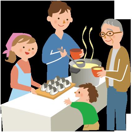 【食事の無料提供】炊き出し情報(日時, 場所)のリンク集